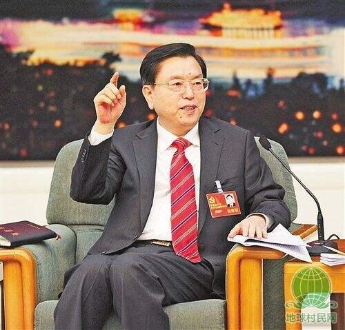重庆代表团被中外记者一问到底,张德江从容应对斩钉截铁