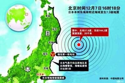 日本发生7.3级地震发海啸警报 分析称或为去年大地震余震