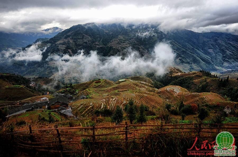 美丽中国 龙脊梯田