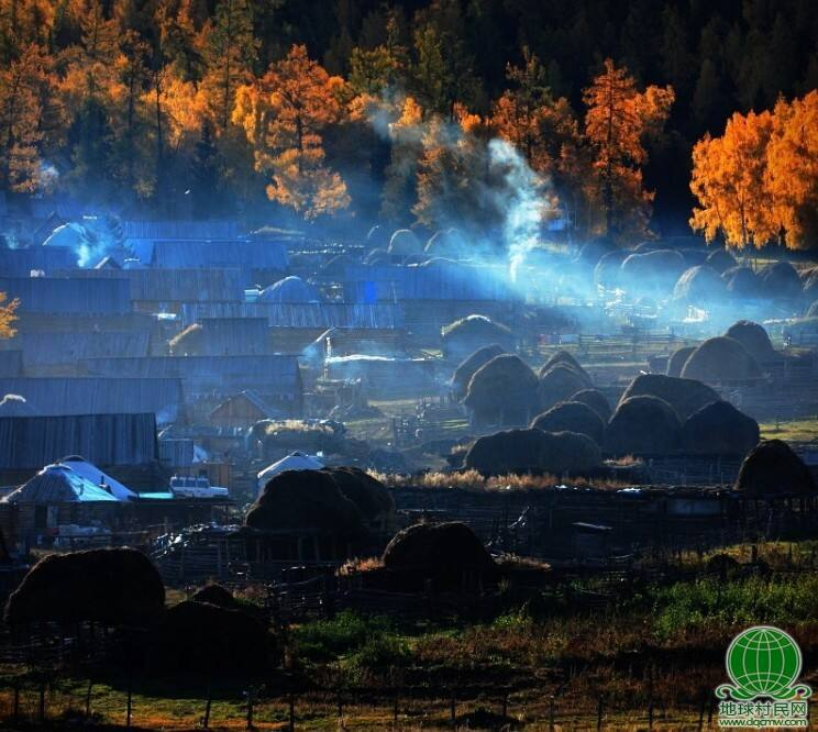 童话世界——北疆白哈巴