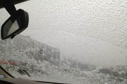 三湘大地多地雨雪飞舞 部分地区有冰冻