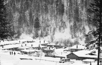双峰林场 天公堆出雪乡来(美丽中国·寻找最美乡村)