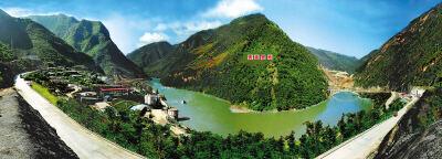 雅砻江上的绿色水电