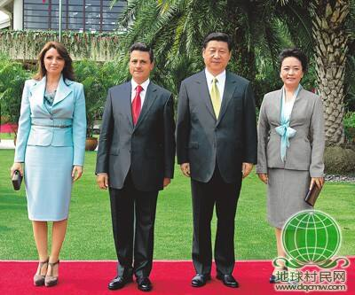 习近平同墨西哥总统培尼亚会谈