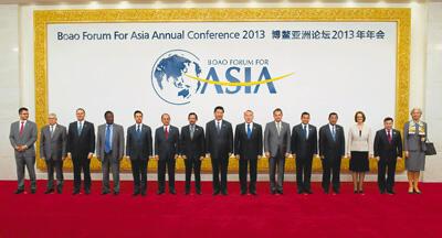 博鳌亚洲论坛2013年年会开幕 习近平出席开幕式并发表主旨演讲