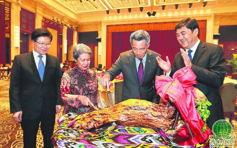李显龙总理:新加坡新疆合作前景光明