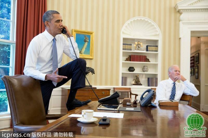 白宫里:老奥如此不成体统,让副总十分无奈