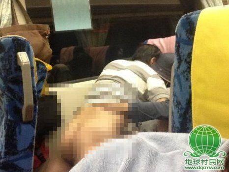 台湾中年情侣列车上演活春宫 怪警察管太多(图)