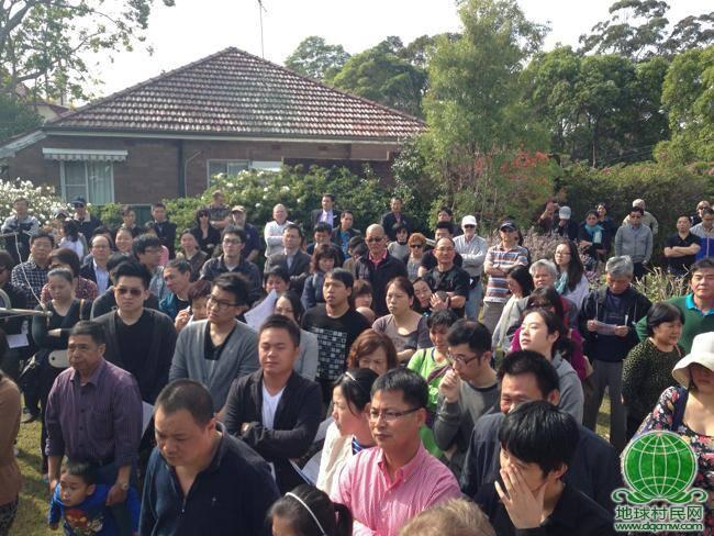 悉尼普通民宅拍出238万 几乎被亚裔包场
