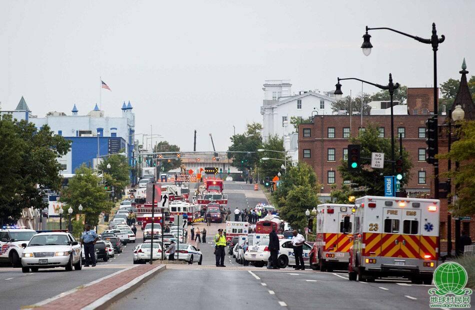 3名枪手闯入美海军司令部枪杀12人 1名枪手被毙