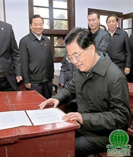 中共领导人的乡愁:胡锦涛34年未还乡