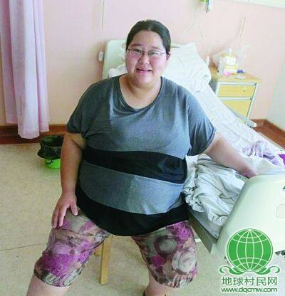 270斤胖妞 怀孕8月浑然不觉