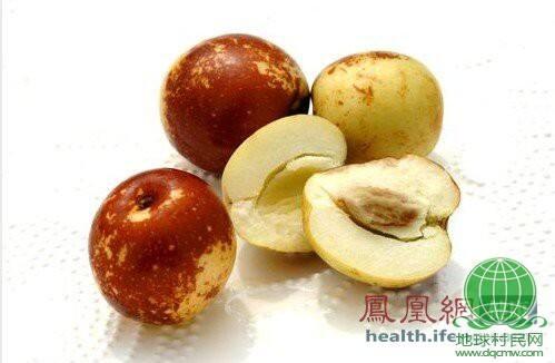 鲜枣维C含量最多 这样吃可抗癌保肝