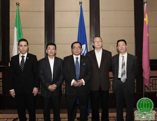 欧盟前主席伯蒂·埃亨同亚太交流合作基金会执行主席 肖武男在京举行会晤