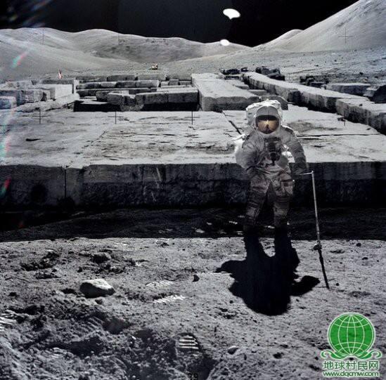 月球UFO基地真实照片曝光 震惊世界!