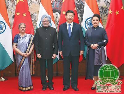 习近平会见印度总理辛格 推动中印战略合作伙伴关系迈上新台