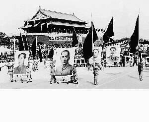 毛泽东一生共多少次 登上天安门城楼