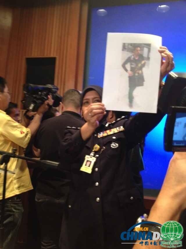 马方/3月11日下午,马航在吉隆坡公布假护照号码和持有者照片,他们...