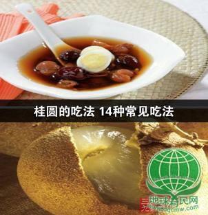 桂圆的吃法 14种常见吃法