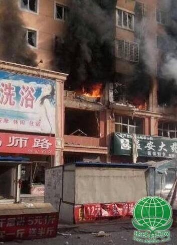 辽宁葫芦岛居民楼发生爆炸 已致3人受伤