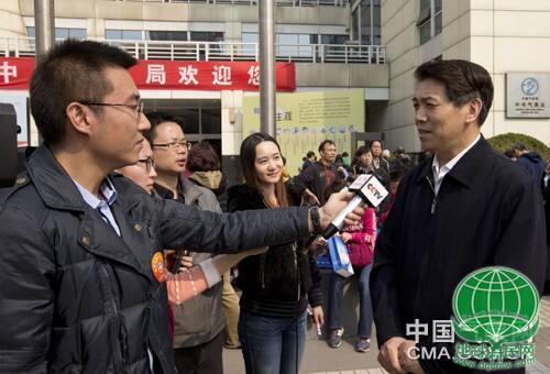 快讯:郑国光世界气象日接受联合采访