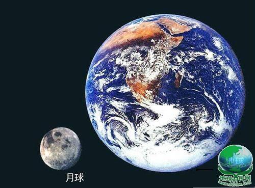 地球月球有多大?见过这些图,你会有莫可名状的恐惧