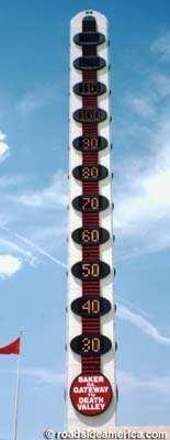 全球最大温度计13层楼高 将于7月重新亮灯