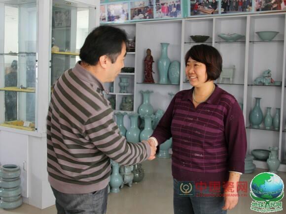中国瓷网遍访陶艺名家汝州行——汝瓷大师韩琴