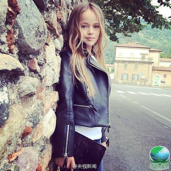 俄罗斯9岁女孩成国际超模 洋娃娃般外表五官精致