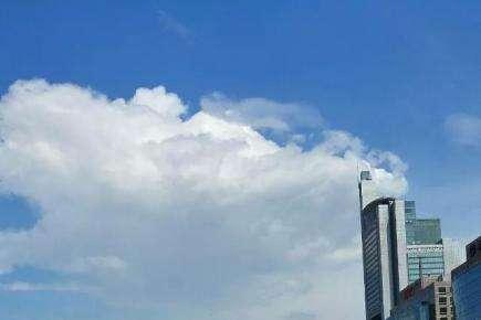 地球村记忆之三: 首都国贸蓝天白云,但愿成为新常态