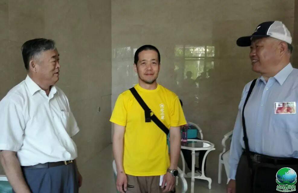 潘秀峰会长亲切会见远山正真先生