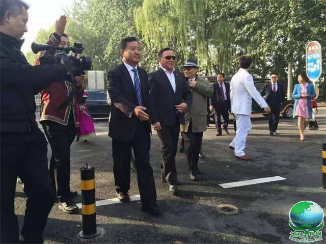 蒙古国副总理策·奥云巴特尔做客北京蒙古大营!