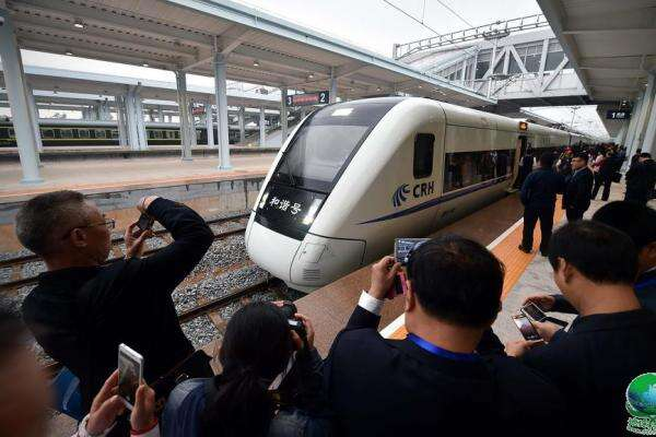 World's first high-speed train line circling an island opens in Hainan