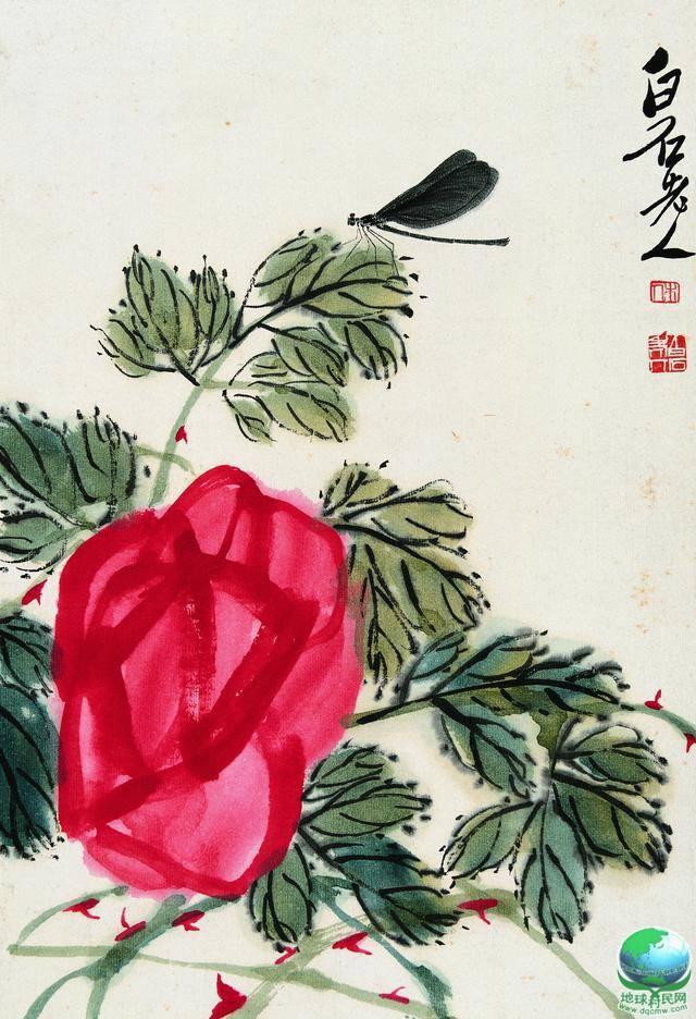 荣宝斋珍藏的齐白石工笔鸟虫册页(一)