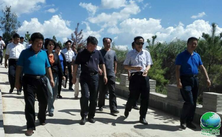 """李杰翔市长赴清水河调研""""十个全覆盖工程与精准扶贫工作并座谈"""