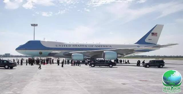 世界各国元首专机在杭州萧山机场展出