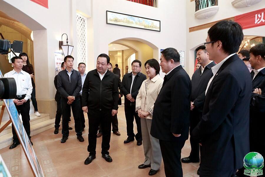 布小林主席关注东方控股集团党建与孝道文化