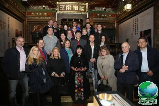 四十位国际家族巨头对话朱炳仁 专程聚会杭州青铜大宅江南铜屋